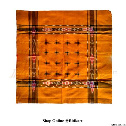 Sambalpuri yellow and 16 star Traditional rumal