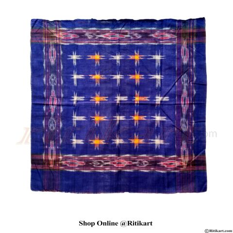 Sambalpuri Blue and 16 star Traditional rumal