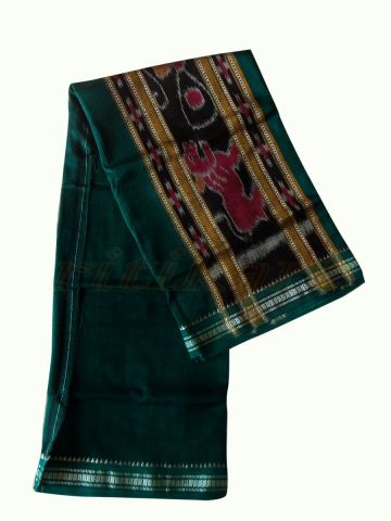 Hand woven pure cotton Green Gamcha