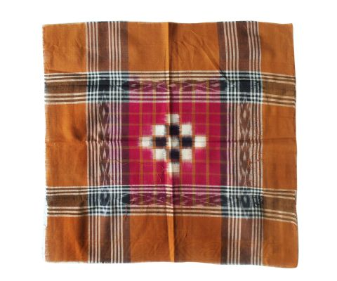 Sambalpuri Rumal Red and Brown