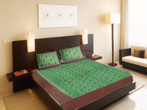 Sambalpuri hand loom bed sheet