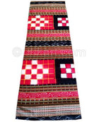 Red And Black Sambalpuri Hand Woven Passapalli Saree