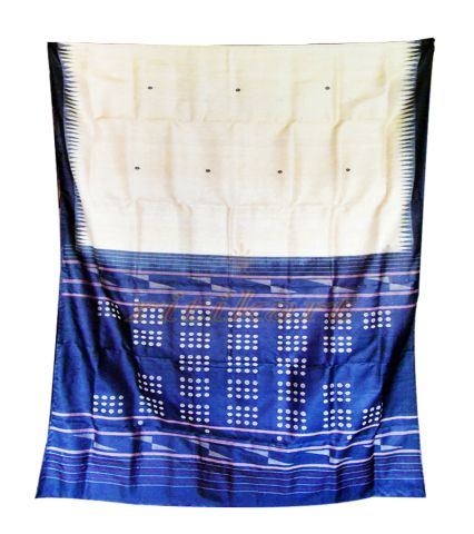 Classic Tussar Silk Saree with Butti work on Body