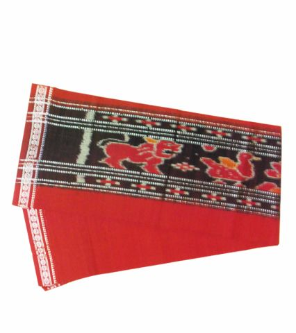 Hand woven pure cotton Maroon Colour Gamcha