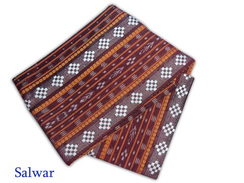 Deep Maroon Color Sambalpuri Salwar Suit