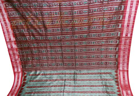 Nuapatana Hand Woven Cotton Saree P1