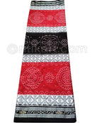 Maroon And Black Nuapatana Khandua Cotton Saree P1