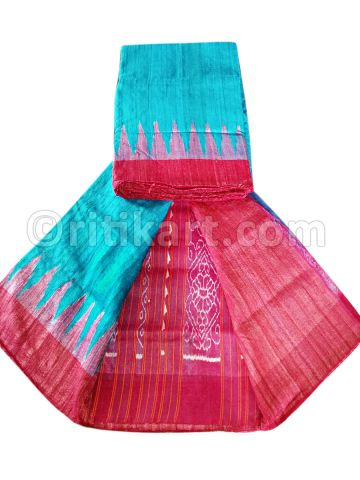 Feroz Color Tussar Silk Saree