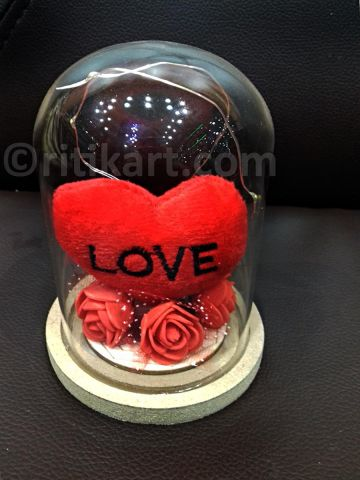 Decorative Love Heart Gift Items with LED Light P1