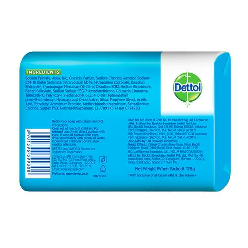 Dettol Cool Soap Bathing Bar