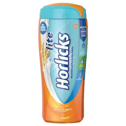 Horlicks Lite Regular Malt 450 g