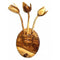 Wood Carving Wall Hanging Key stand with Bud Design