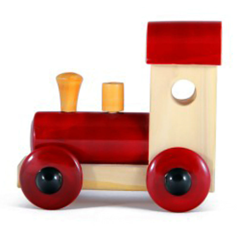 Channapatna Wooden Train Engine Toy (Red) pic-1
