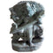 Goddess Saraswati Playing Veena Stone Work Showpiece