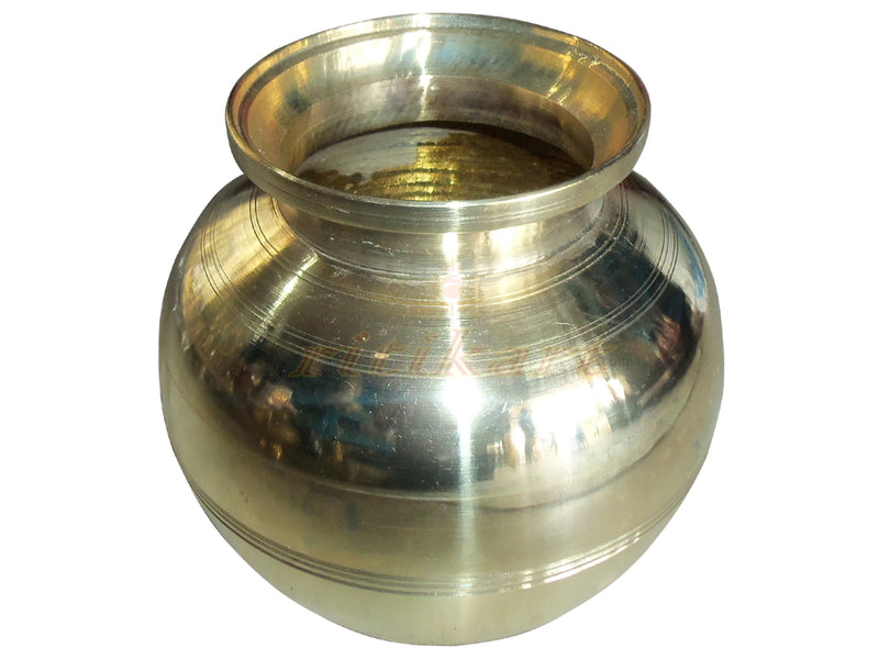 Brass Puja Pot