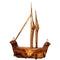 Wood Carving Wall Hanging  Key stand With Boat Design