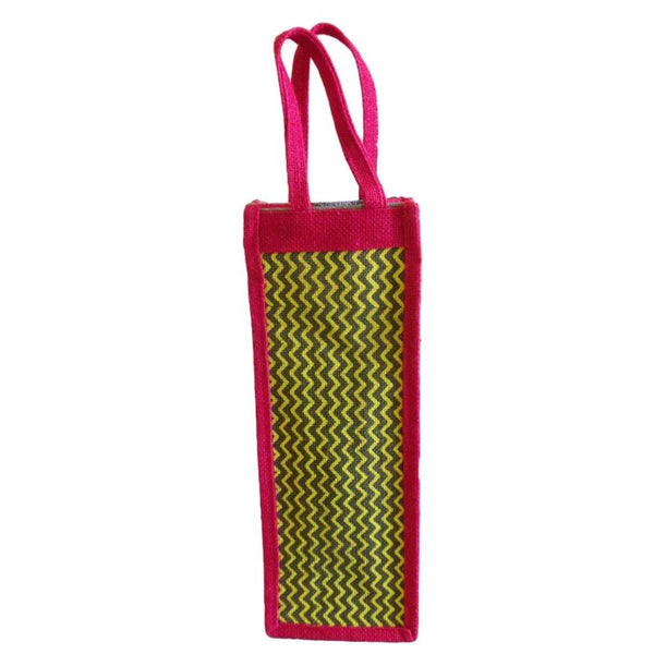 Jute Jhula  Water bottle Carry Bag