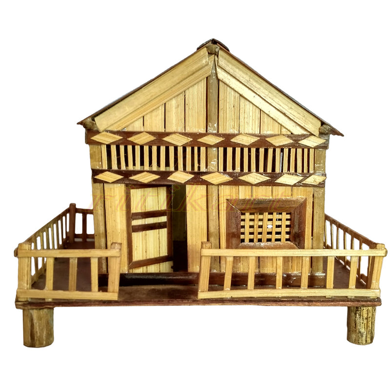 Handmade House Design From Bamboo pic-1