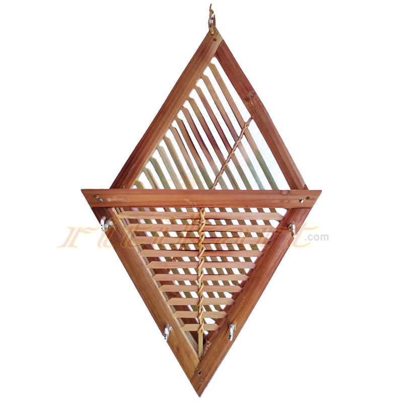 Wall Hanging Hand Made Key Stand from Bamboo