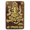 Wood cutting Ganesh Showpiece