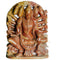 Panchamukhi Hanuman Murti Made from Pink Stone