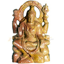 Lord shiva Pink Stone Work Showpiece