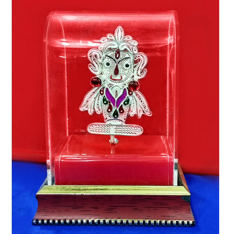 Silver Filigree Lord Jagannath Showpiece