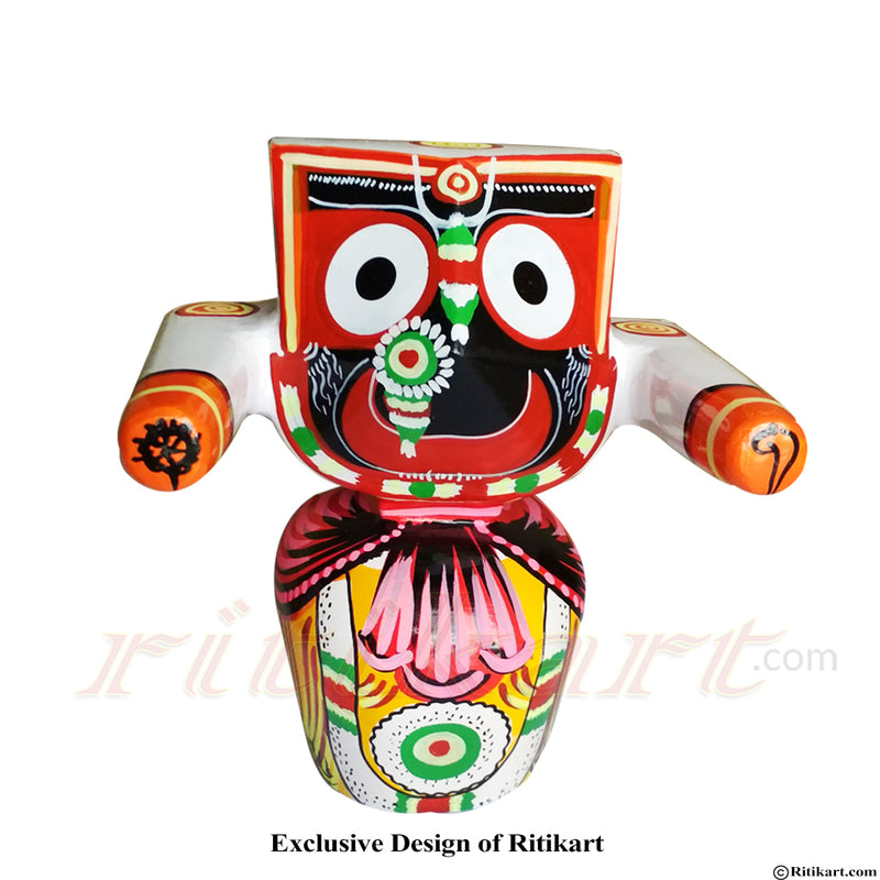 Jagannath Patitapaban  Wooden Idol 25 CMs High pic-1