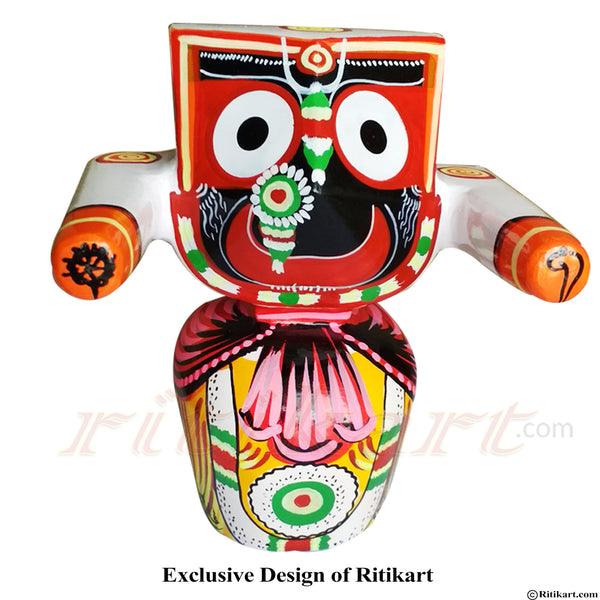 Jagannath Patitapaban  Wooden Idol 30 CMs High pic-1