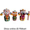 Jagannath Balabhadra Subhadra Neem Wood Idol 25 CMs High