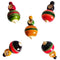 Chanapatna Wooden Hand Lattu set of five
