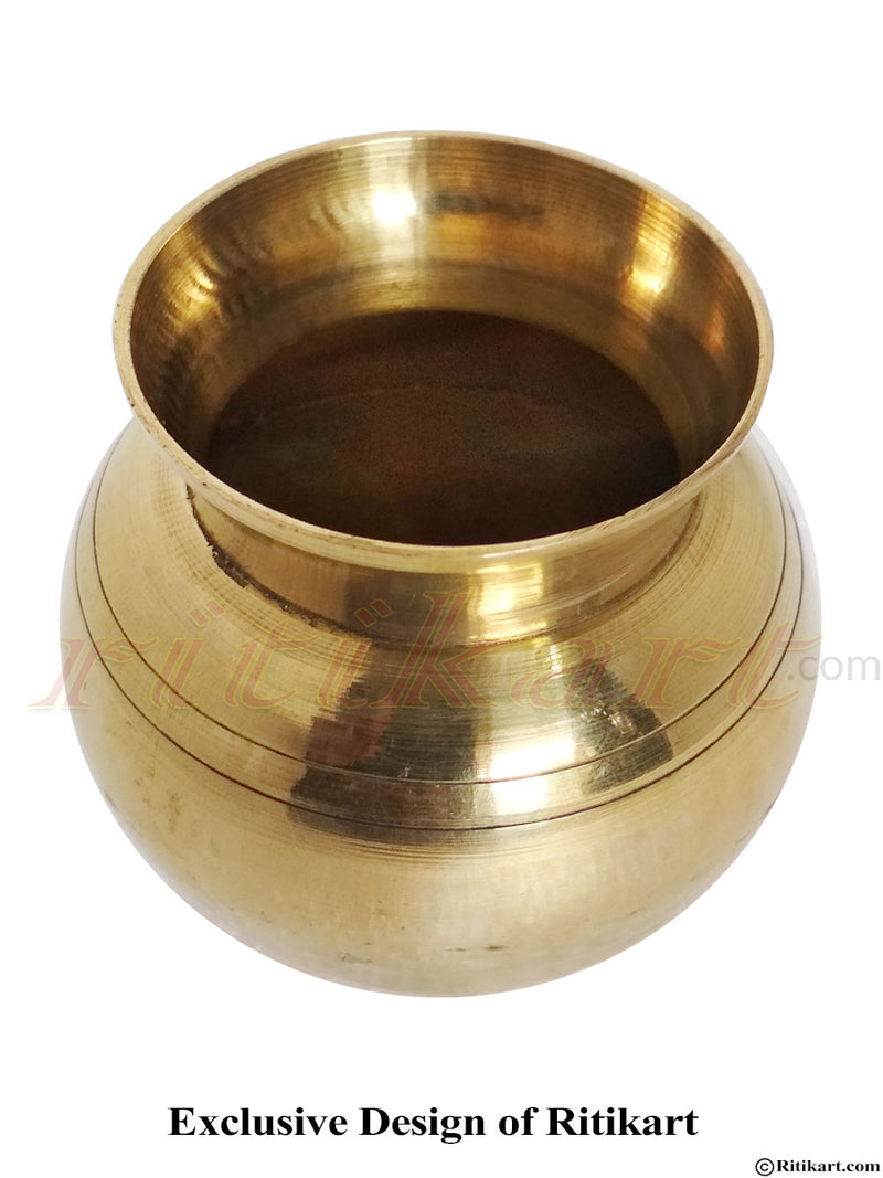 Brass Puja Dhala From Balakati
