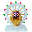 Marble Lord Jagannath With Konark Chakra