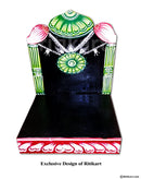 Prabha For Lord Jagannath Patitapaban 8 Inch idol pic-2