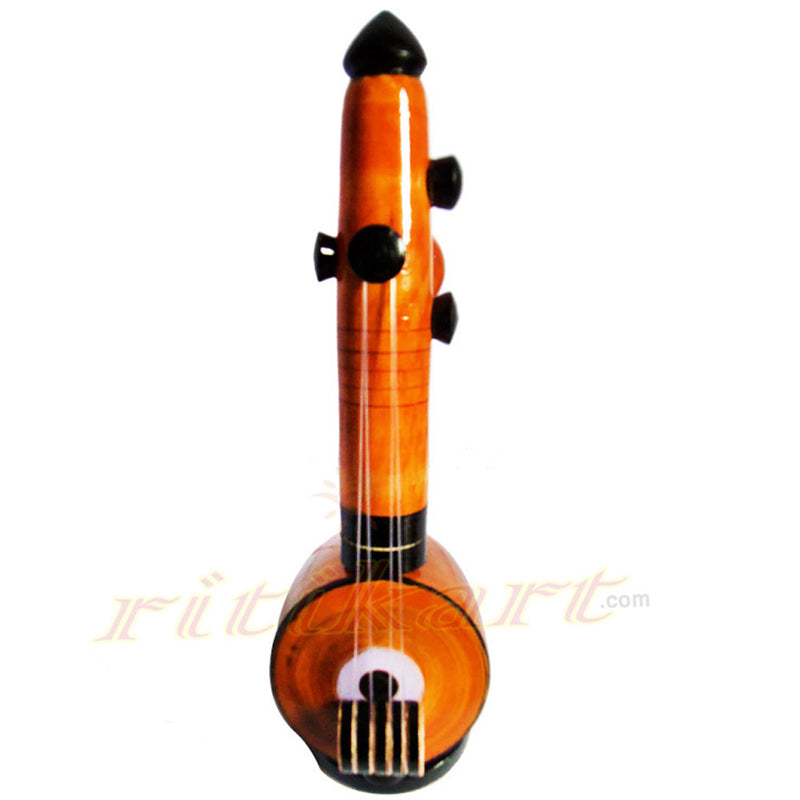 Wooden Sitar ShowPiece