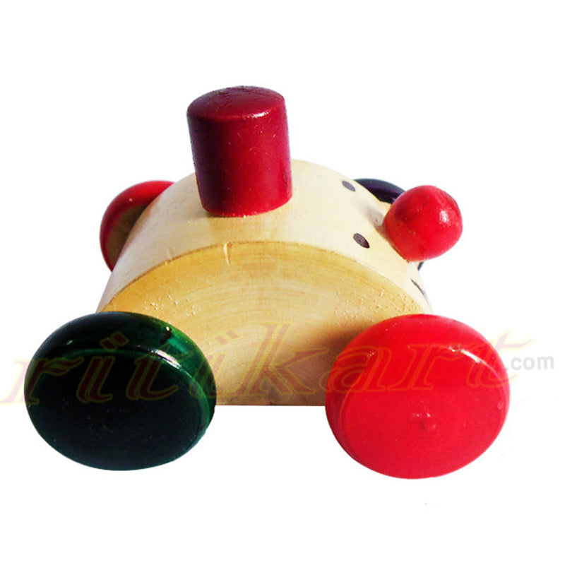 Wooden Pull And push Toy Car