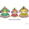 Jagannath Balabhadra Subhadra puja Mukta dress(4/6/8/10 inches)-pc1