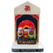 Marble Work-Multi color Lord Jagannath, Balabhadra And Subhadra Showpiece
