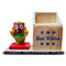 Marble Work-Lord Jagannath  Statue With Wooden Pen Stand