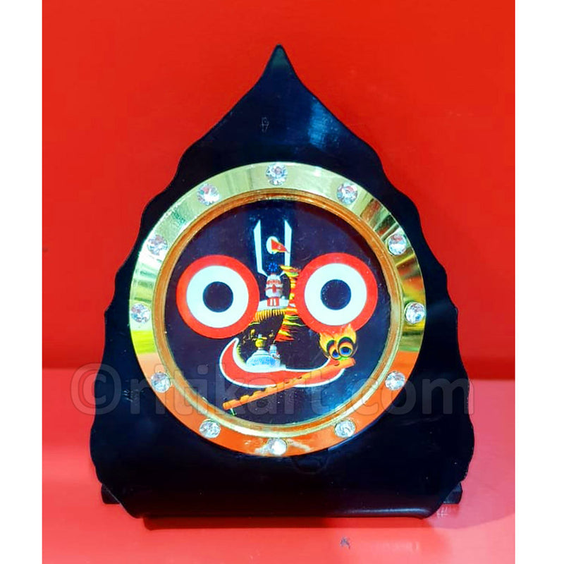 Wood Work Showpiece Lord Jaganatha Statue