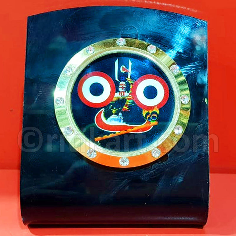 Wood Work Lord Jaganatha Idol Statue
