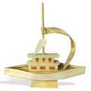 Handcrafted Bamboo Fisherman Boat
