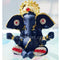 Gold Plated Alloy Lord Ganesh in Crown Showpiece