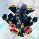 Gold-Plated Alloy Cute Lord Ganesh Showpiece