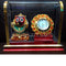 Marble Work Lord Jaganatha With Watch Showpiece