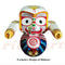 Jagannath Balabhadra Subhadra Wooden Idol of 20 CMs Height pic-4