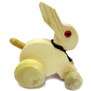 Chanapatna Wooden Rabbit Toy pic-1
