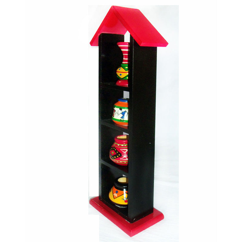 Chanapatna Decorative Stand Pot Set pic-2