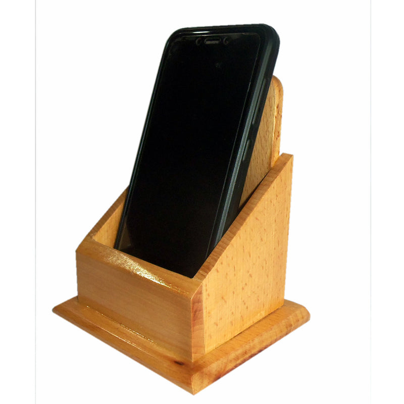 Wooden Mobile Stand pic-2