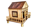 Handmade House Design From Bamboo